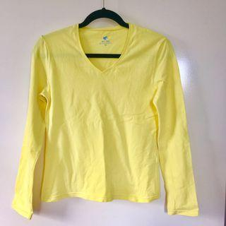 Giordano Yellow Top M