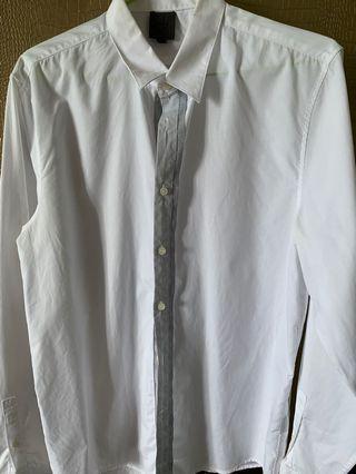 🚚 CK white shirt /slim cut