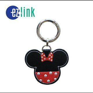 Leather Minnie Mouse Ezlink Charm