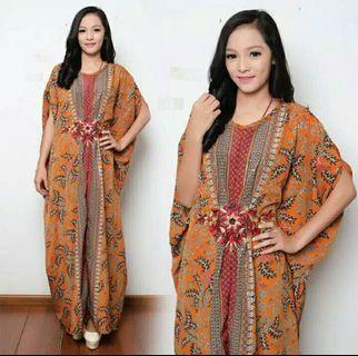 Kaftan batik motif kluwing,tannisa collection