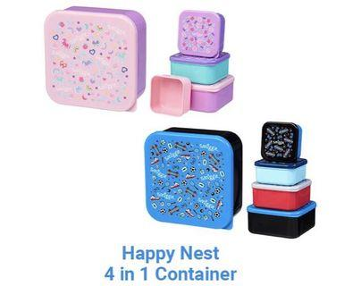 Smiggle Lunch box 4in1