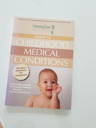 🚚 Guide to Childhood Medical Conditions