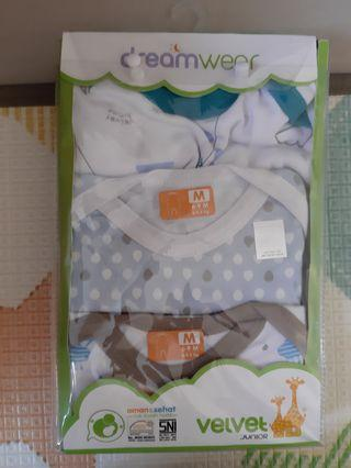 Velvet sleepwear set