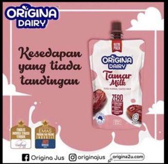 Origina Tamar Milk contains high calcium mixed with pure natural dates concentrated
