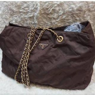 REPRICE Prada travel nylon bag size 45x30 only 2.99jt