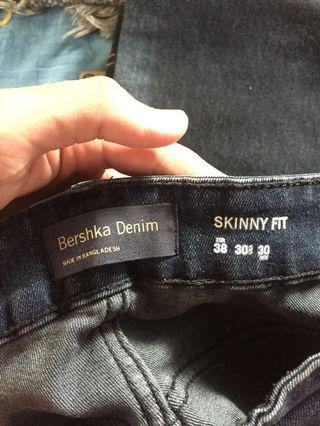 Bershka Denim skinny fit #BAPAU