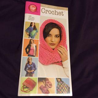 15 crochet projects pattern book
