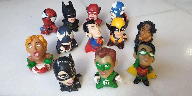 Marvel D.C. Comics Superheroes Figurines