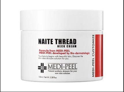 🚚 BNIB Medipeel Naite Thread Neck Cream 100 ml