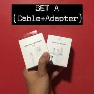 CABLE 1M + ADAPTER (ORIGINAL APPLE)