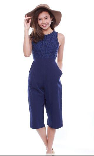 Fairebelle TERESA'S LACE POCKET JUMPSUIT