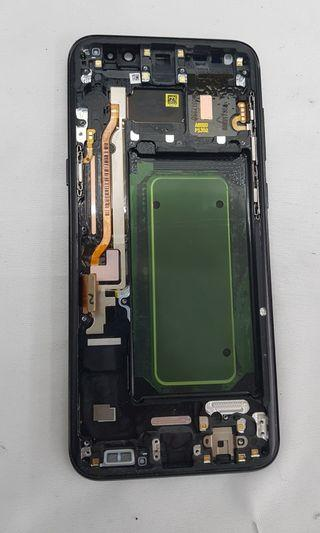 S8+ LCD with middle frame( NOT PHONE)