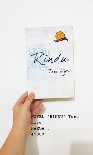 Novel Rindu by Tere Liye