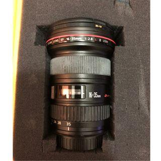 🚚 Reduced Lens - Canon EF16-35mm f/2.8 II USM