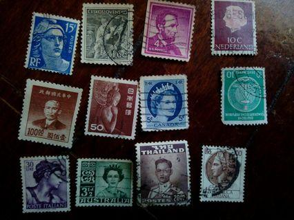 Stamps, Old Stamps ,setem Malaysia