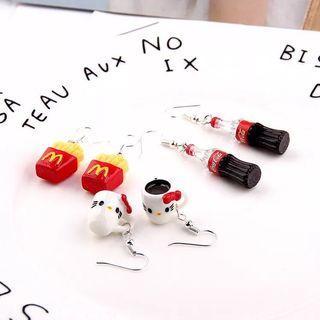 🚚 McDonald's inspired earrings