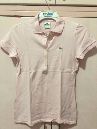 Polo lacoste pink