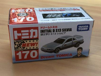 Tomica Initial D S13 Silvia Japan Sticker