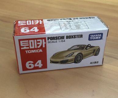 Tomica Porsche Boxster Korean Box