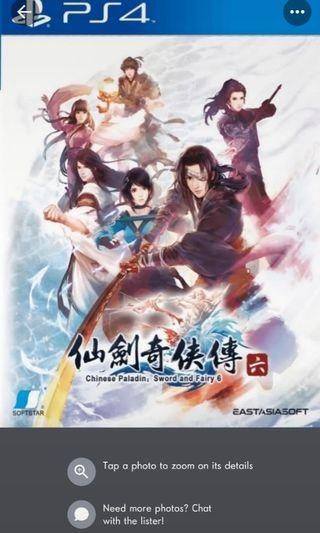 PS4 Game: Sword & Fairy 6