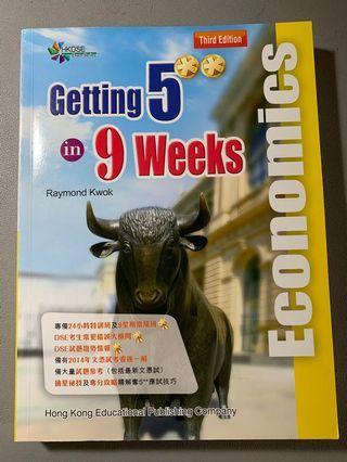Getting 5** in 9 weeks Economics