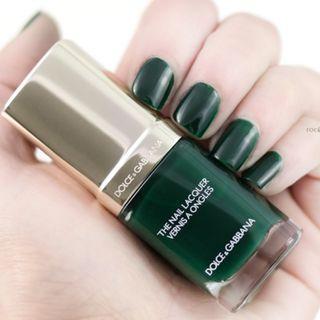 D&G 甲油 The Nail Lacquer Intense (725 Wild Green 深綠色) 全新連盒