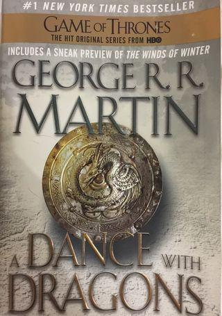 A Game of Thrones: a Dance With Dragons