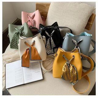 Bucket Bag with Matching Scarf