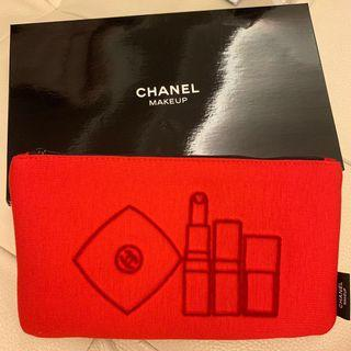 Chanel VIP Makeup Cosmetic Bag Pouch 化妝袋