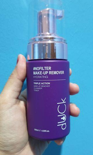 Duck- makeup remover