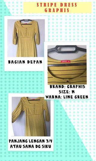 Stripe Dress by Graphis