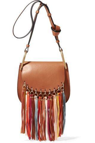 Replica Chloe Caramel Leather Calfskin Shoulder Bag