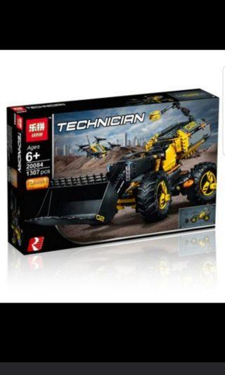 Lepin 20084 Technic Volvo Frontend loader