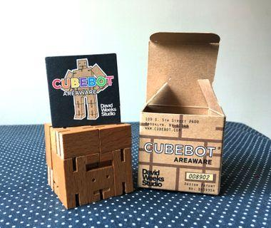 🚚 Cubebot 木質機器人公仔