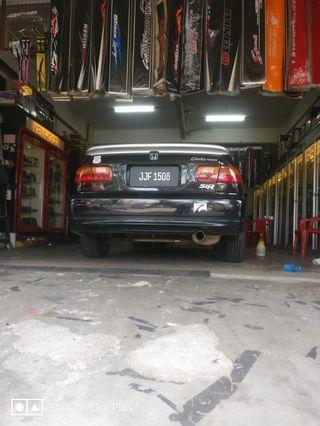 Honda Civic SR4 EG8 bluetag