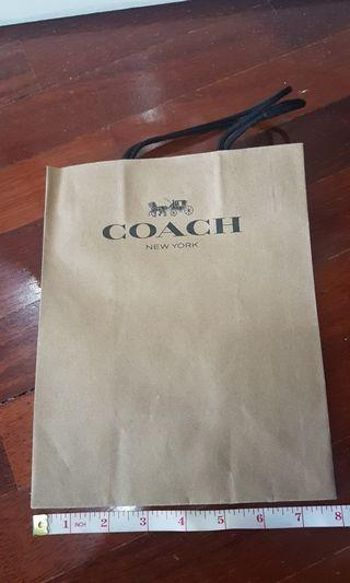 Coach Paperbag
