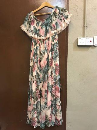 GUESS summer floral long dress