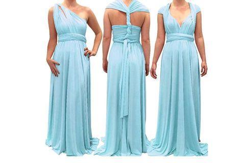 Long infinity Bridesmaid dress