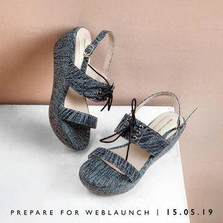 Valencia by Enrica - Constance Blue Wedges