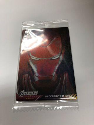 全新Marvel Avengers 4 餅咭 no.14 Ironman (可換no.15 CA)