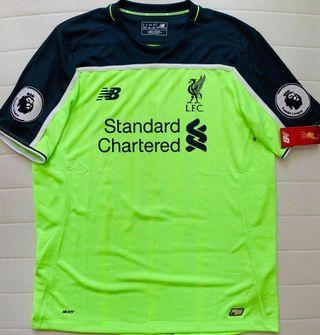 利物浦 Liverpool 作客 波衫 球衣 球衫 全新 size L