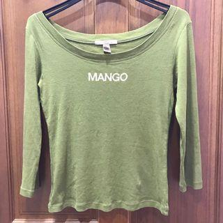 二手-Mango圓領上衣