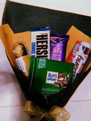 Chocolate bouquet 💐 birthday/ anniversary/ surprise / graduation / for him / for her