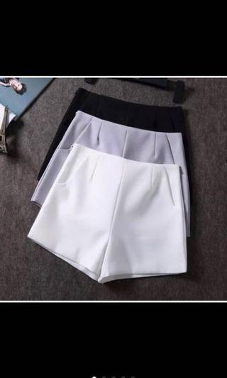 🚚 Korean High Waist short