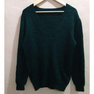 Green Knit-wear