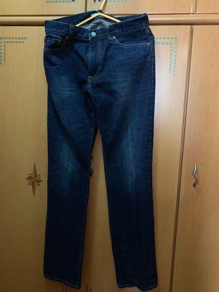 新淨31吋腰牛仔褲