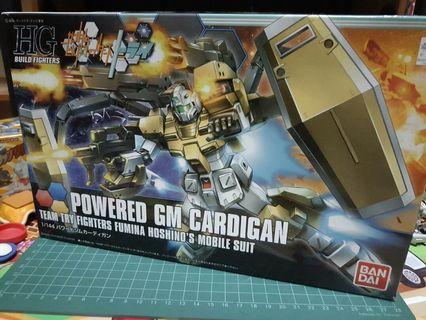 *SALE* Bandai Gundam High Grade HG 1/144 Powered GM Cardigan + FREE GIFT