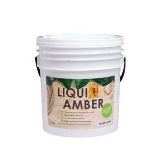 Liqui Amber Clear Gloss (Water Based) UV Varnish 5 litre