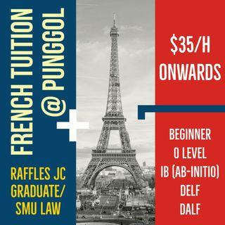 French Group and 1-1 Classes ($28 onwards)