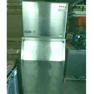 Used Commercial Ice Maker c/w Storage Bin